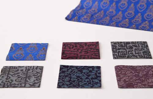 Textildesignsamples © Julia Moser Foto: Vera Rupp